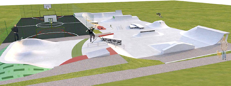 Marple Skatepark Phase 2 Planning Application submitted