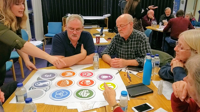Marple Pool Visioning Session 12 March 2020