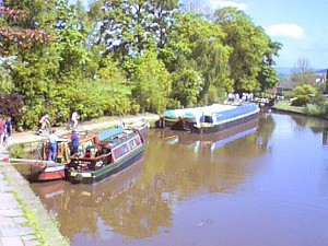 Boats at Possett Bridge