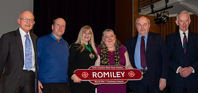 Friends of Romiley Station