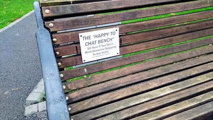 Happy to Chat Bench