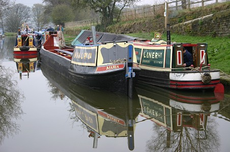 Historic Canal Boats