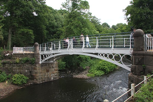 The Iron Bridge after reopening in 2008.