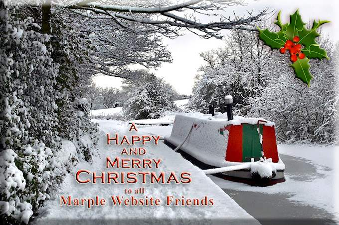Merry Christmas 2018 from the Marple Website