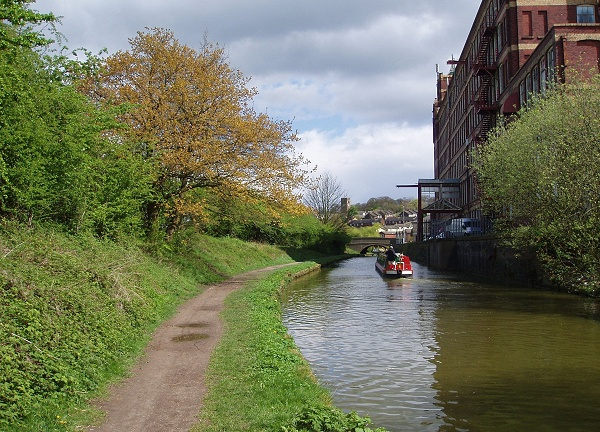 April - Canal by Goyt Mill - S. Clarke