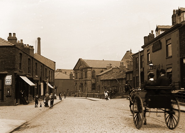 September - Market Street, Marple