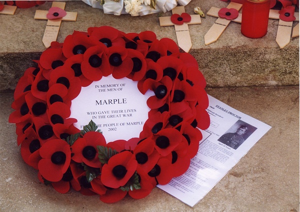 November - Marple Wreath - M.Whittaker