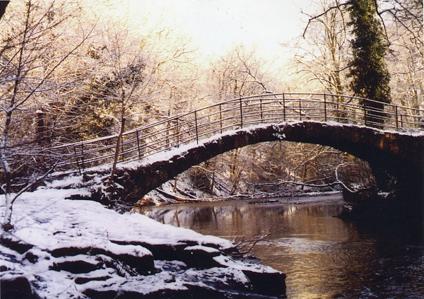 December - Snow on Roman Bridge - P.Clarke