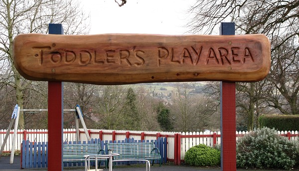 Infants Play Area in Marple Memorial Park