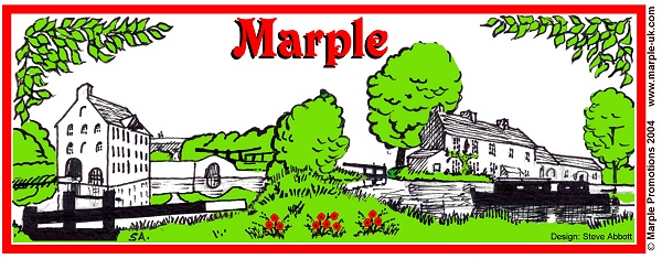 Marple Mug design by Steve Abbott