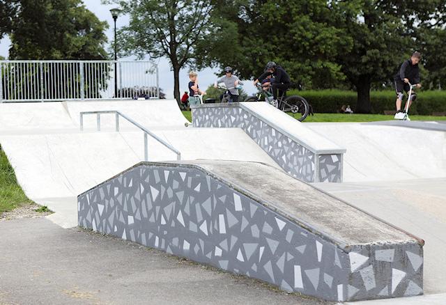 Marple Skatepark reopened