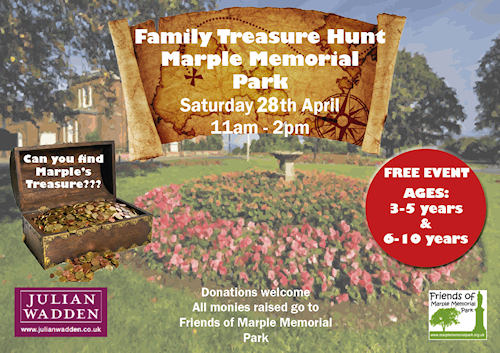 Treasure Hunt in Marple Memorial Park
